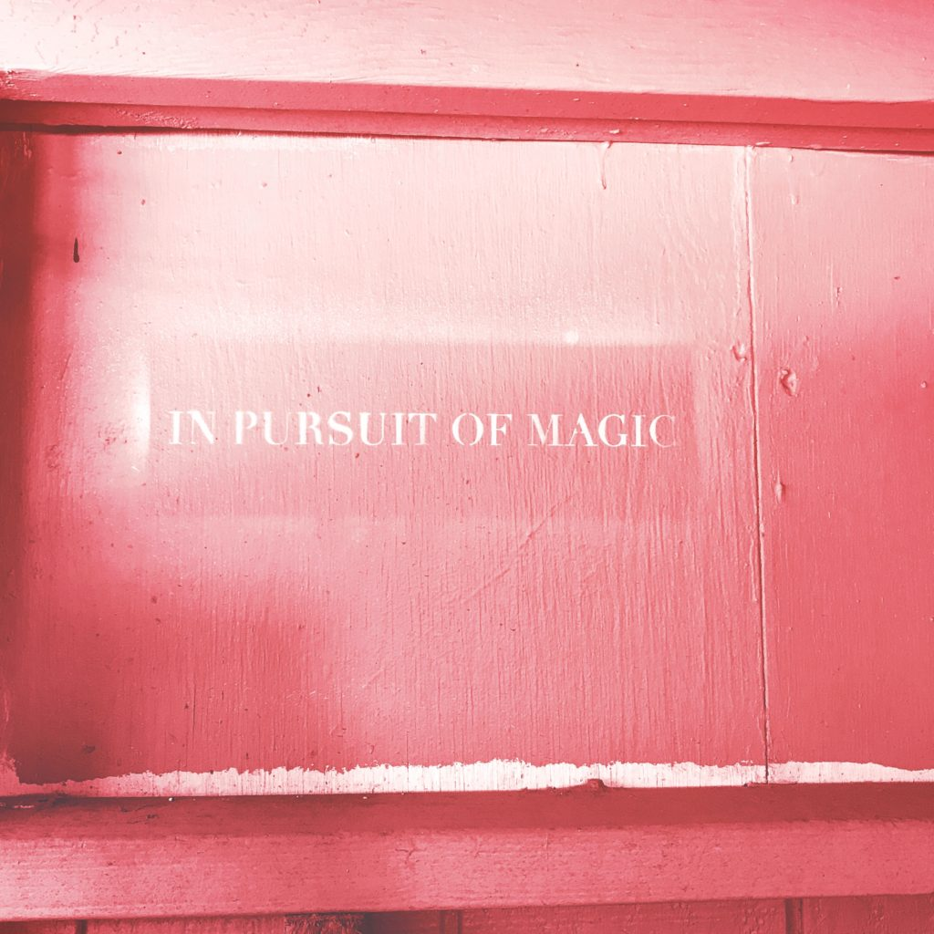 In pursuit of magic | How do I decide what is write for me